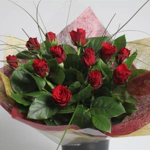 bouquet 50cm 12 rose